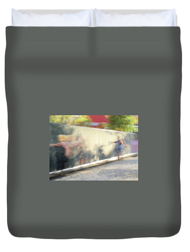 Dance Duvet Cover featuring the photograph The Dance Of Spring by Alex Lapidus