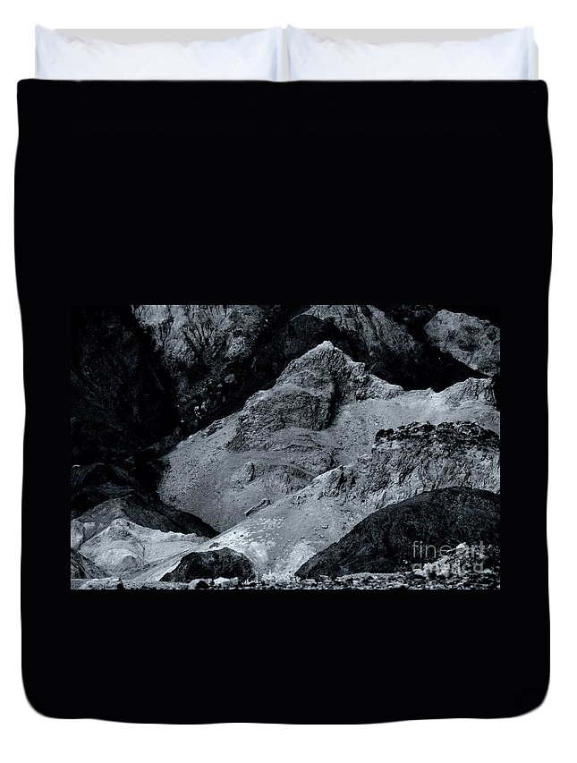 Artist Duvet Cover featuring the photograph The Desert by Kathleen Struckle