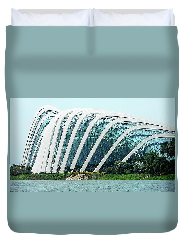 The Dooms Duvet Cover featuring the photograph The Dooms 2 by Ron Kandt