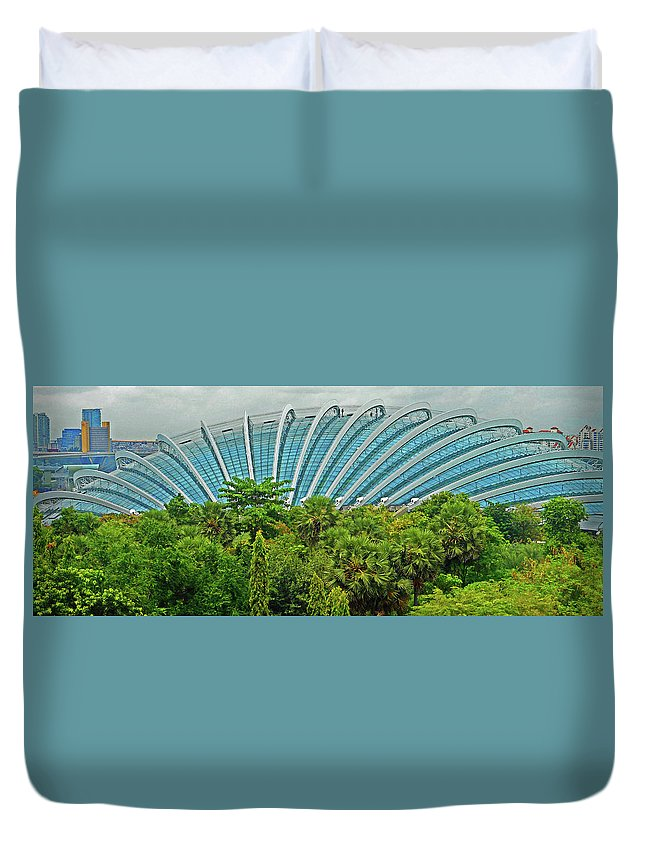 The Dooms Duvet Cover featuring the photograph The Dooms 6 by Ron Kandt