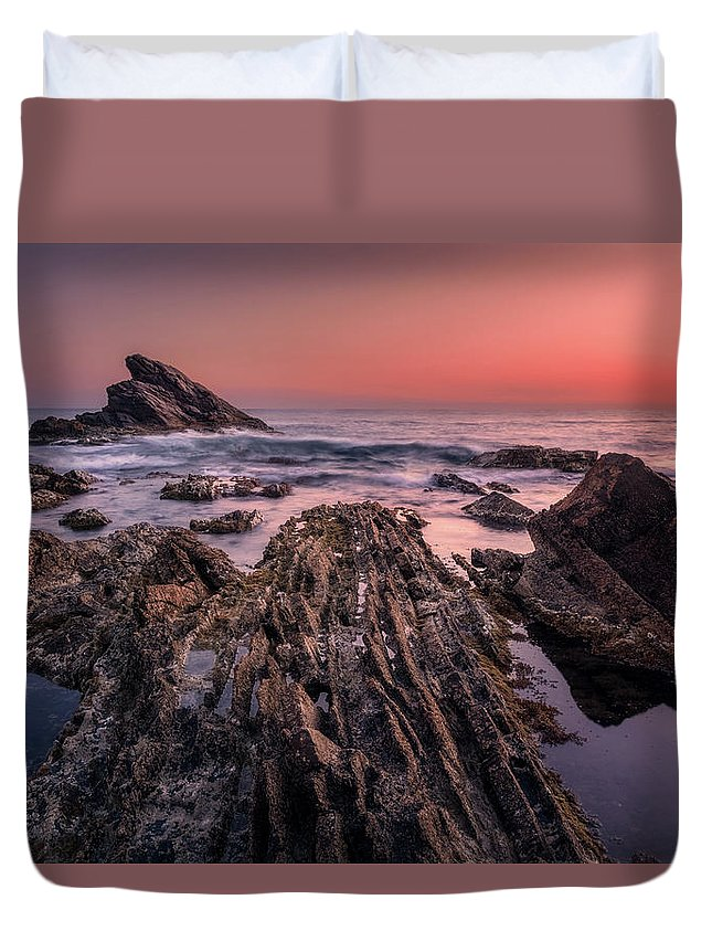 Dream Duvet Cover featuring the photograph The Edge Of Dreams by Matteo Viviani