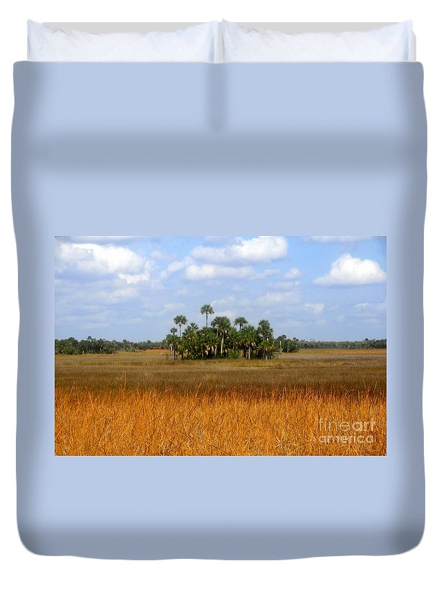 Fakahatchee Strand Duvet Cover featuring the photograph The Fakahatchee Strand by David Lee Thompson