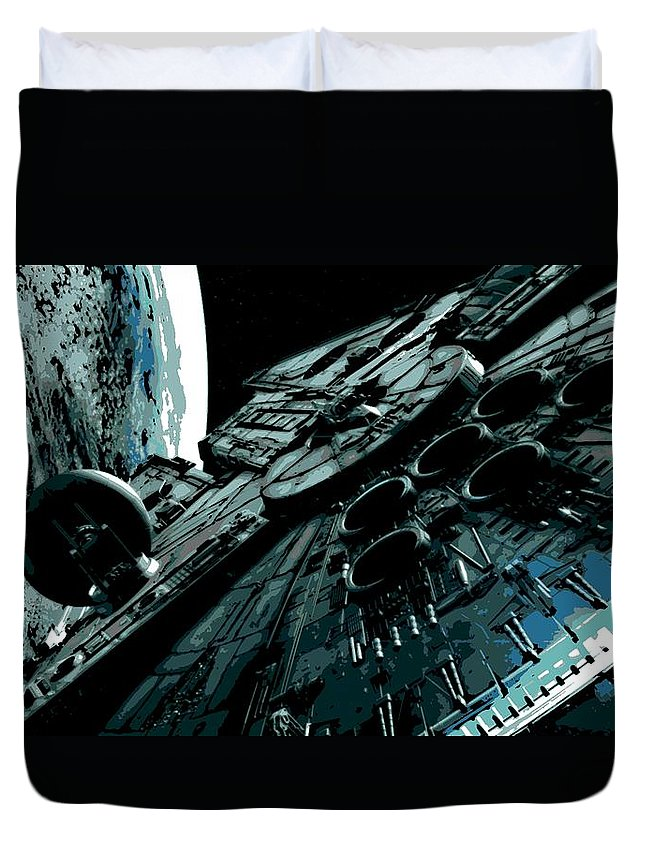 Space Ships Duvet Covers