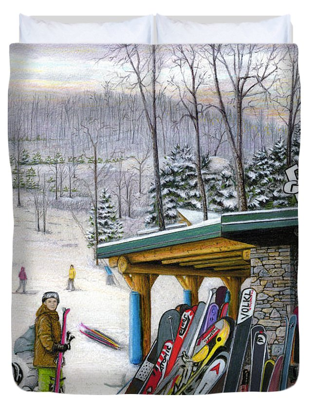 Mountain Laurel Duvet Covers