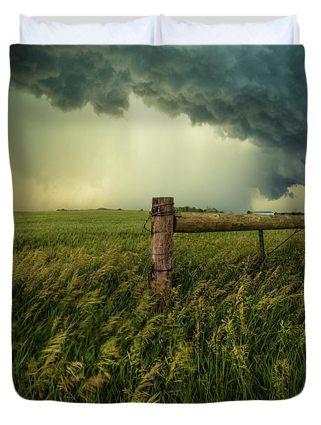 Shelf Cloud Duvet Covers