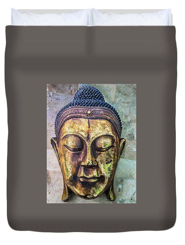 Buddha Duvet Cover featuring the photograph The Gautama by William Hough