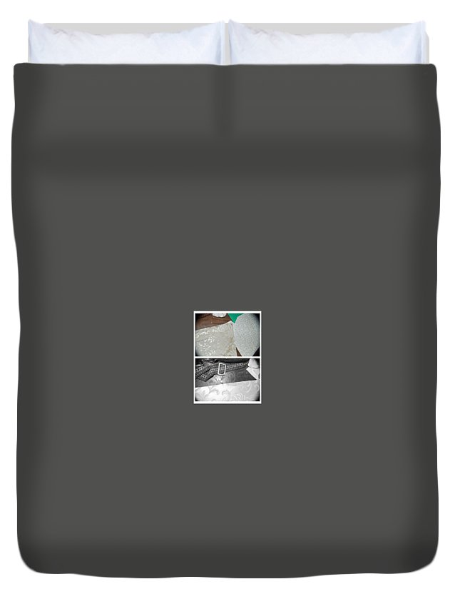 Abstract Duvet Cover featuring the photograph The Glory Of Love by Alwyn Glasgow