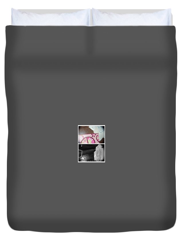 Abstract Duvet Cover featuring the photograph The Good Life by Alwyn Glasgow