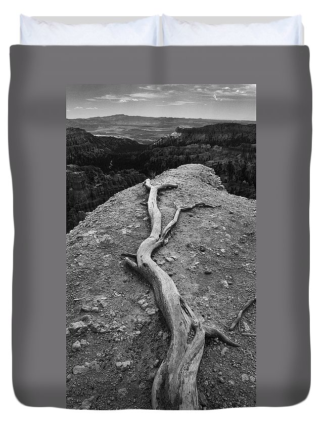 The Great Beyond Duvet Cover featuring the photograph The Great Beyond by Skip Hunt