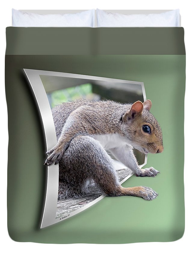 2d Duvet Cover featuring the photograph The Great Escape by Brian Wallace