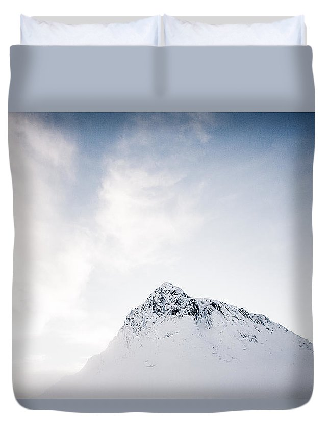Buachaille Etive Mor Duvet Cover featuring the photograph The Great Herdsman #2 by Kate Morton