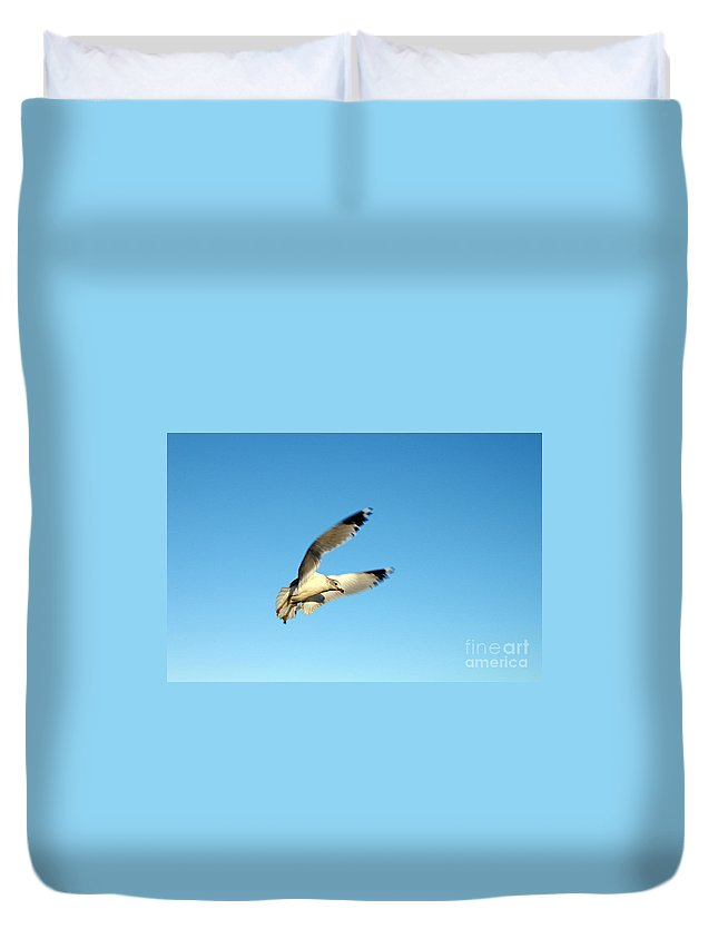 Clay Duvet Cover featuring the photograph The Hunt by Clayton Bruster