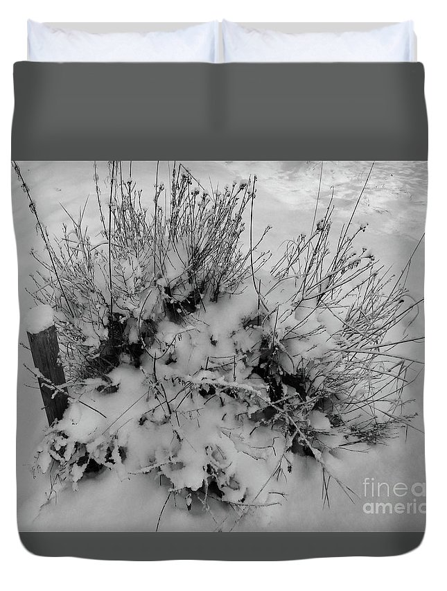 Last Duvet Cover featuring the photograph The Last Post by Martin Howard