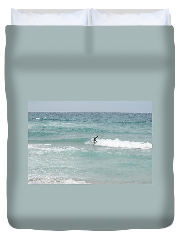 Water Duvet Cover featuring the photograph The Long Summer by Rob Hans