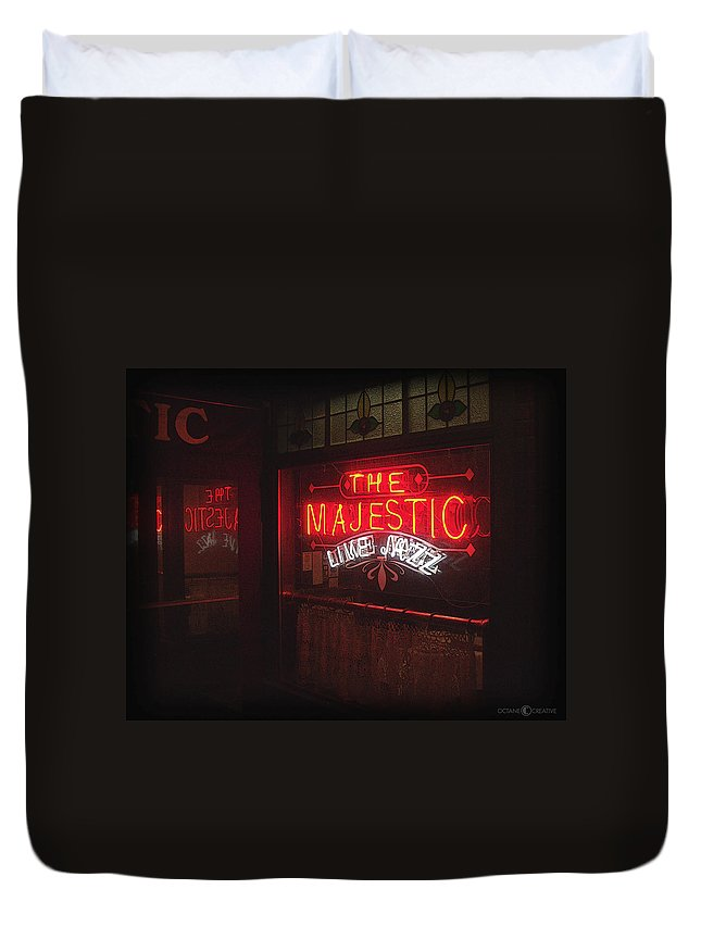Majestic Duvet Cover featuring the photograph The Majestic by Tim Nyberg