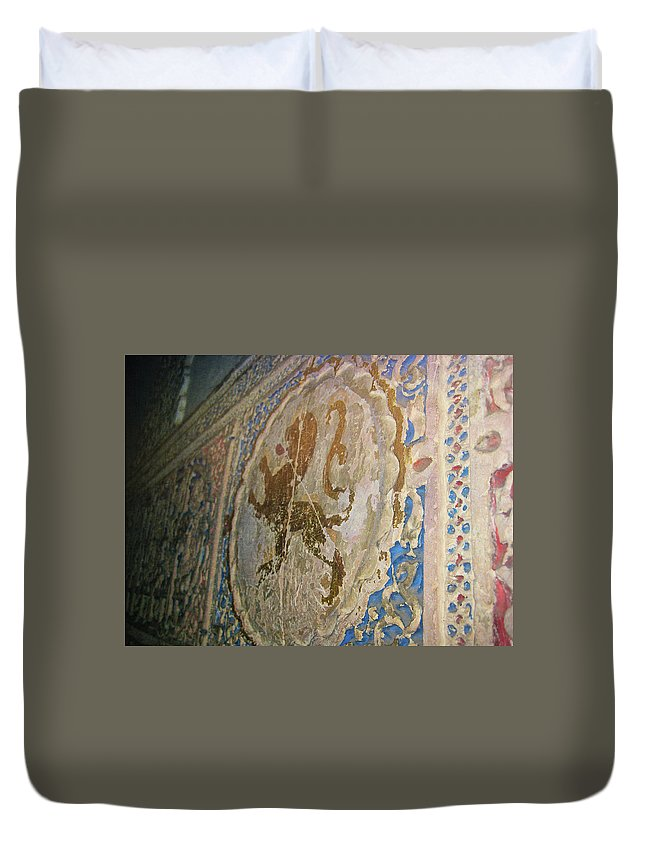 Spain Duvet Cover featuring the photograph The Monastary by JAMART Photography