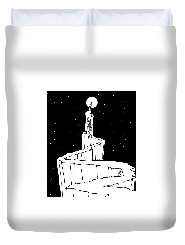 Reach For The Sky Drawings Duvet Covers