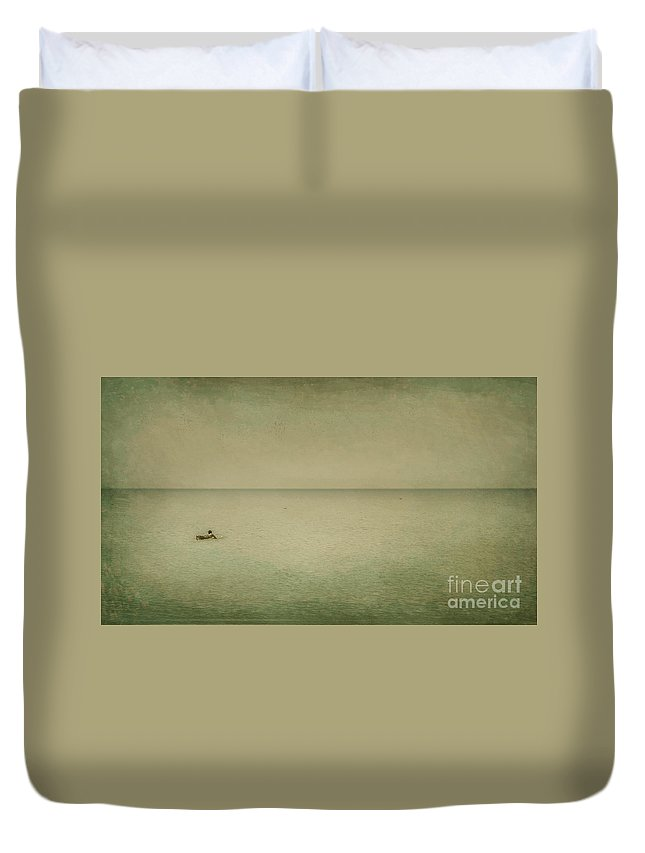 Sea Duvet Cover featuring the photograph The Recesses Of The Deep by Dana DiPasquale