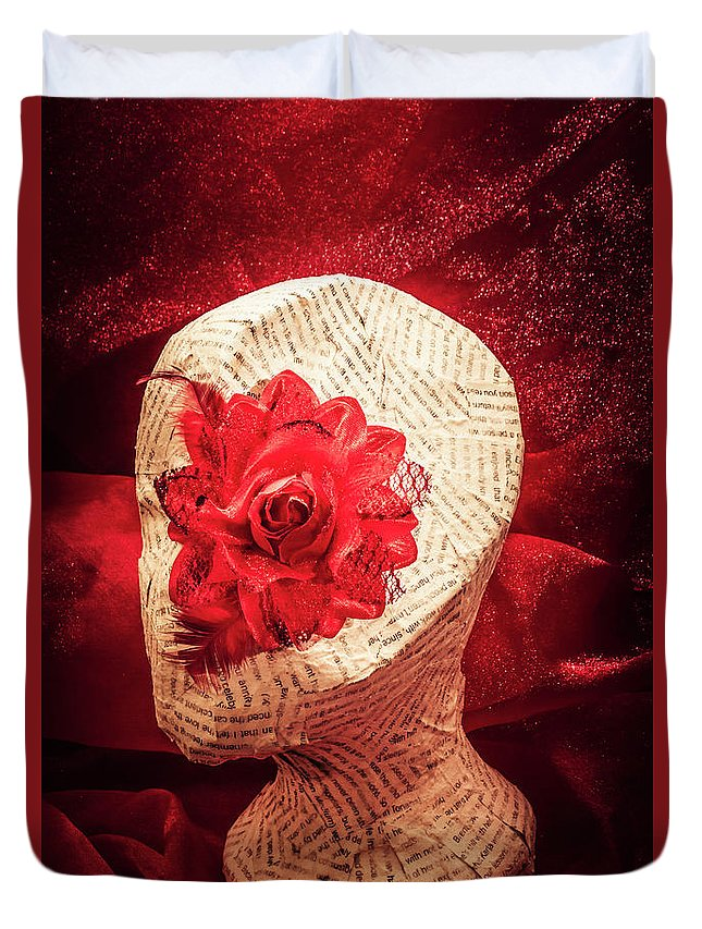 Death Duvet Cover featuring the photograph The Rise And Fall by Jorgo Photography - Wall Art Gallery