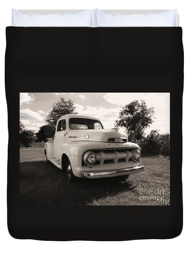 Classic Duvet Cover featuring the photograph The Rizzo Effect Take Two by September Stone