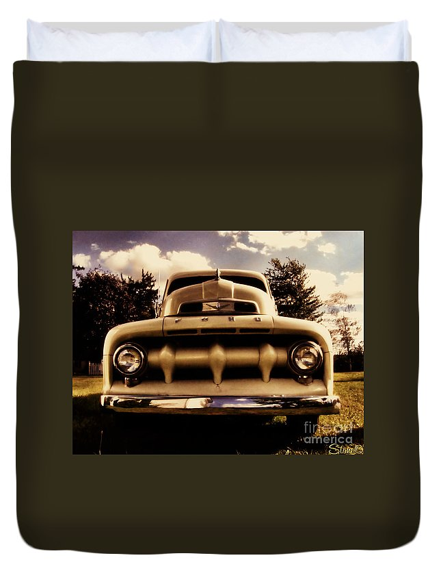 Classic Duvet Cover featuring the photograph The Rizzo Effect Three by September Stone
