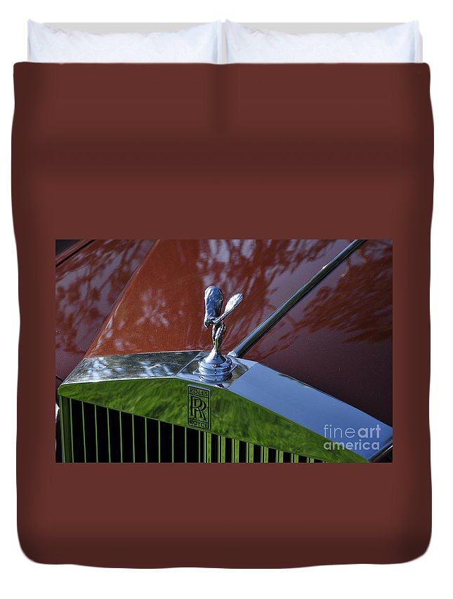 Clay Duvet Cover featuring the photograph The Rolls by Clayton Bruster