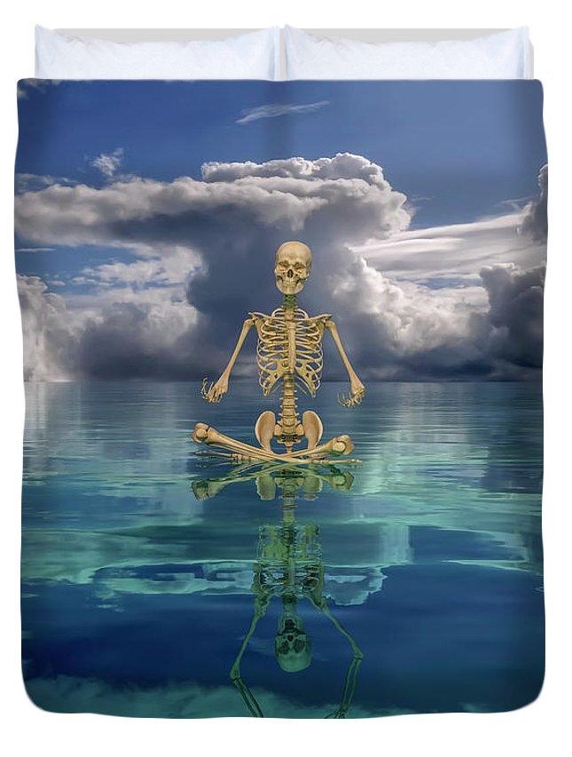 Skeletal System Duvet Covers