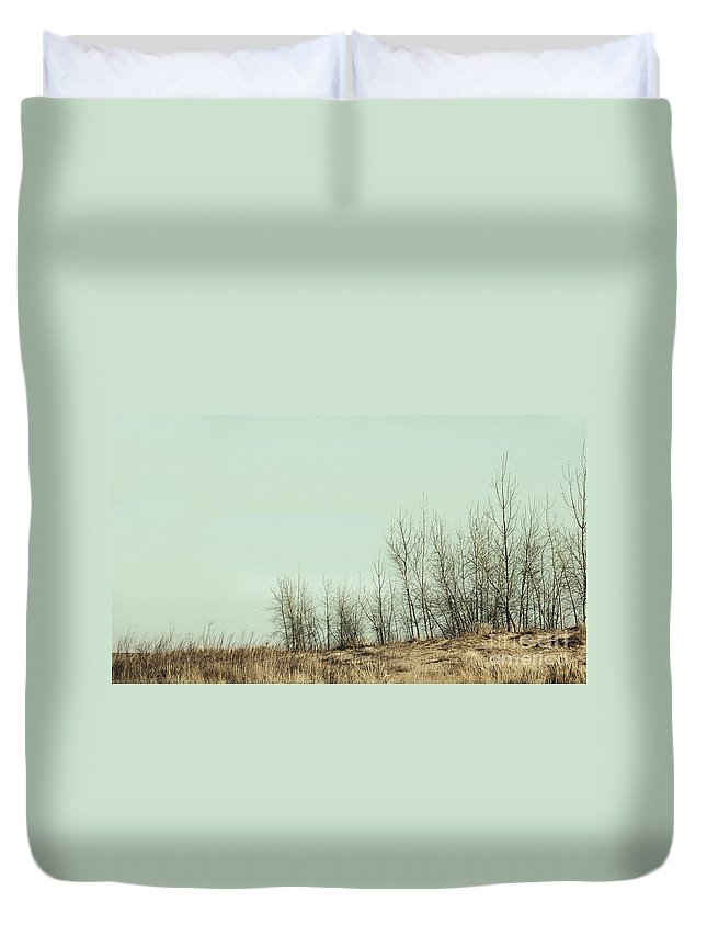 Trees Duvet Cover featuring the photograph The Things We Should Have Done To End Up Somewhere Else by Dana DiPasquale