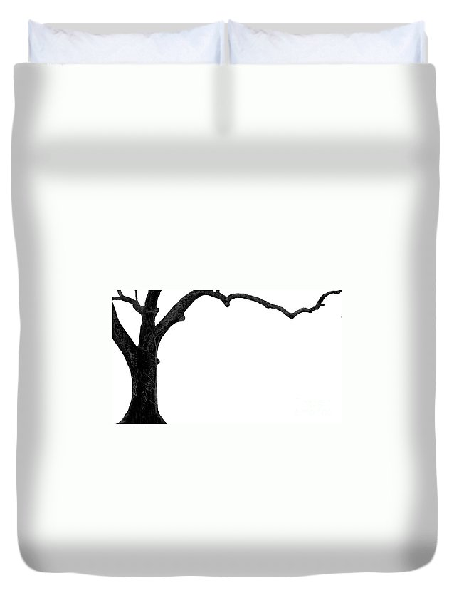 Tree Duvet Cover featuring the photograph The Tree by Amanda Barcon