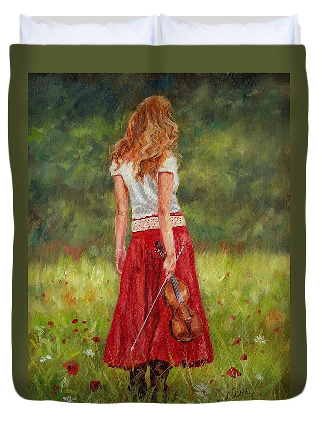 Violins Duvet Covers