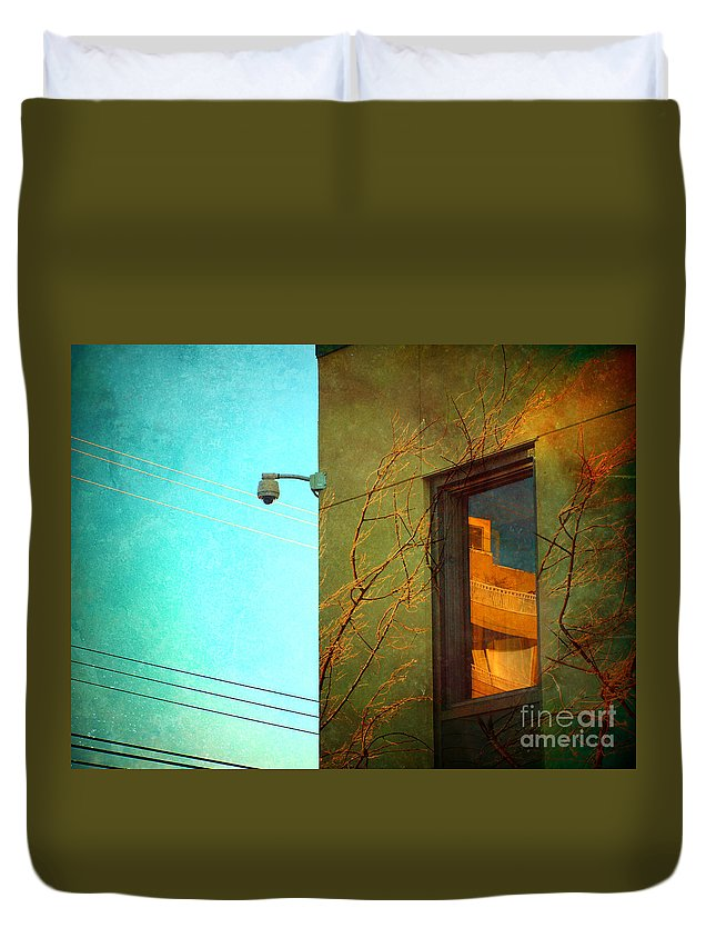 Window Duvet Cover featuring the photograph The Way Things Are by Tara Turner
