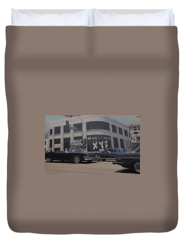 The Whiskey Duvet Cover featuring the photograph The Whiskey by Rob Hans
