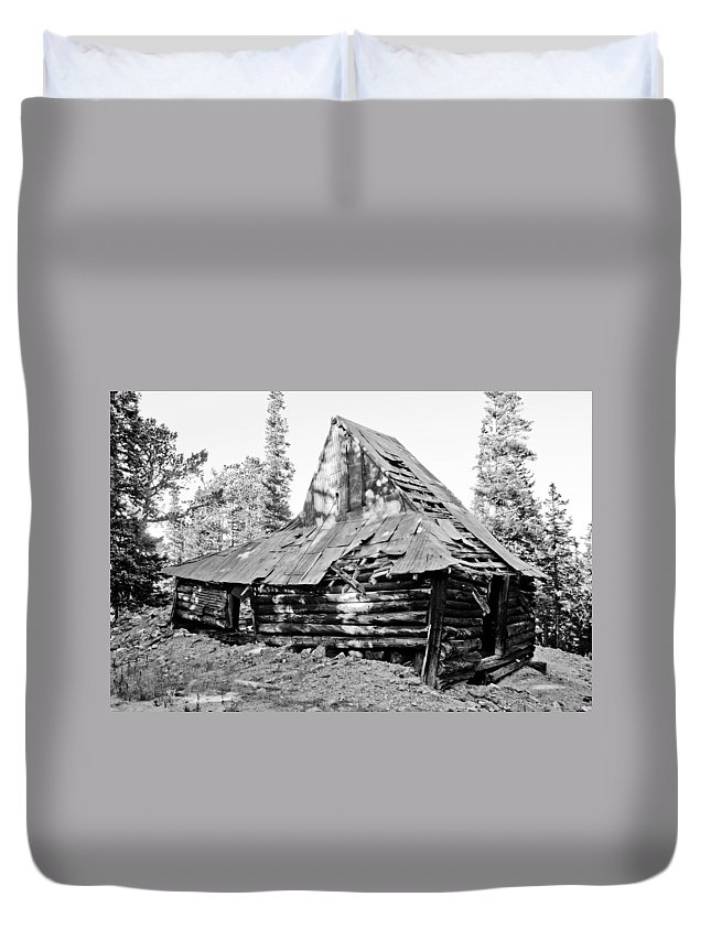 Rustic Duvet Cover featuring the photograph The Witch Hat by James BO Insogna