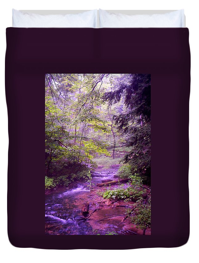 Water Duvet Cover featuring the photograph The Wonder Of Nature by John Stuart Webbstock