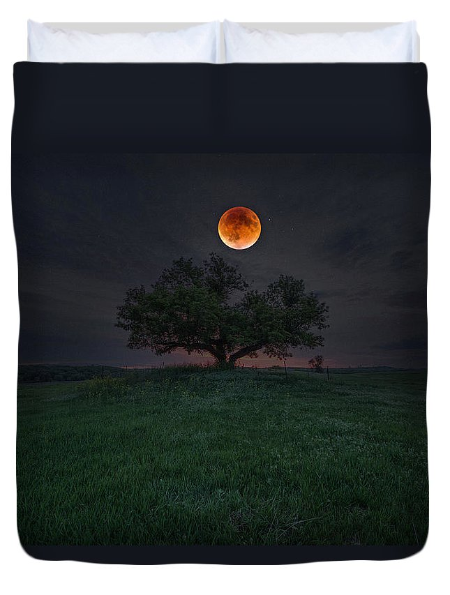 #2015 Duvet Cover featuring the photograph There Will Be Blood by Aaron J Groen