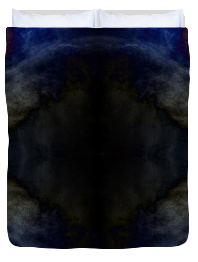 Clay Duvet Cover featuring the photograph Third Eye Visions by Clayton Bruster