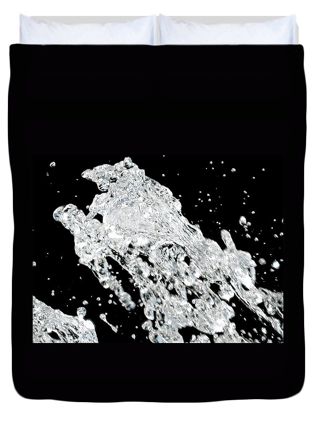 Water Duvet Cover featuring the photograph Thirsty by Molly McPherson