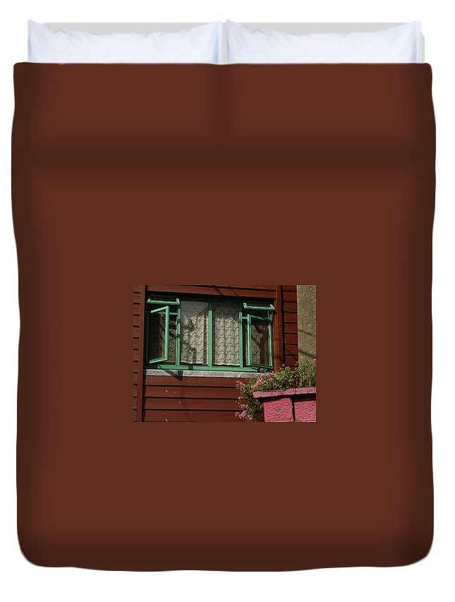 Thomastown Duvet Cover featuring the photograph Thomastown by Kelly Mezzapelle