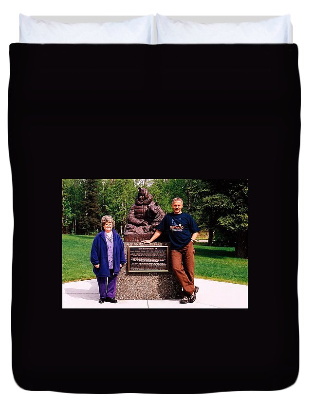 North America Duvet Cover featuring the photograph Three Champions ... by Juergen Weiss
