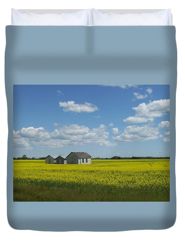 Nature Duvet Cover featuring the photograph Three Of A Kind by Mary Mikawoz