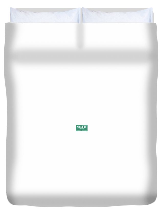 Tibco Be Training Institution Duvet Cover featuring the digital art Tibco Be Training Institution by Virtualnuggets Radhamma