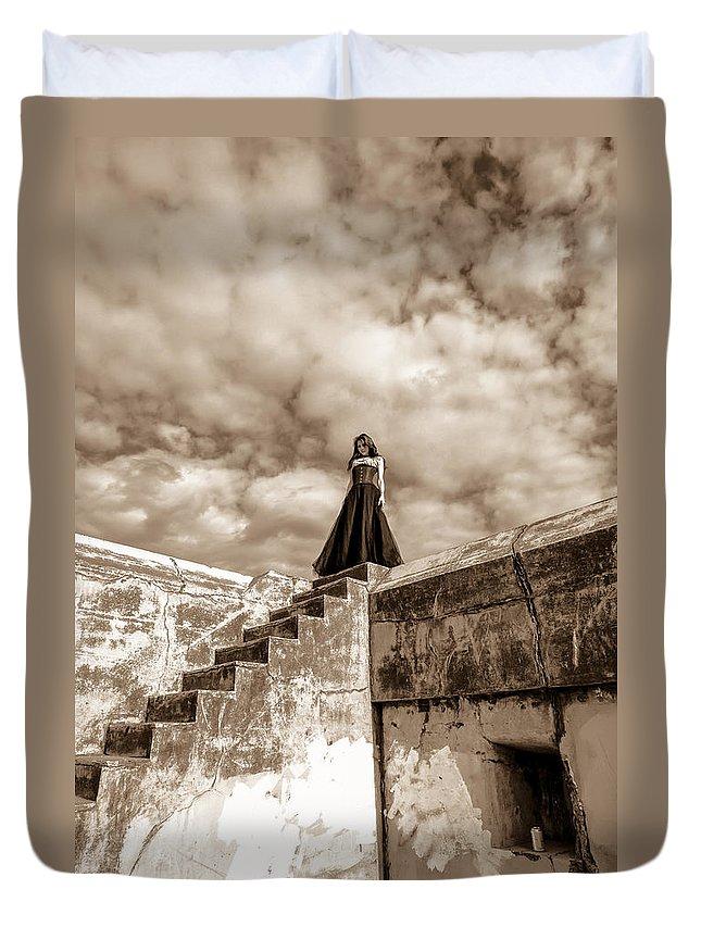 Port Townsend Duvet Cover featuring the photograph Time Stand Still by Erik Fischer