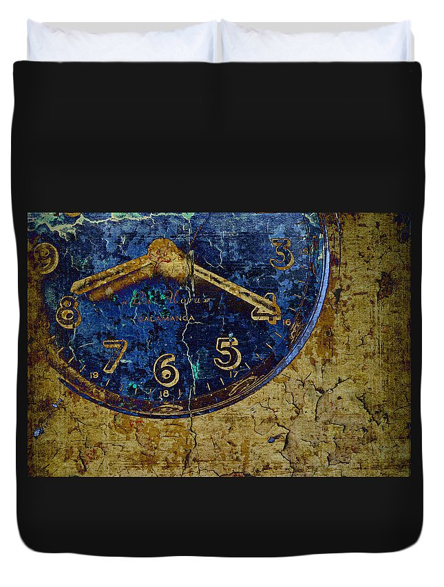 Still Life Duvet Cover featuring the photograph Time To See You Again by Jan Amiss Photography