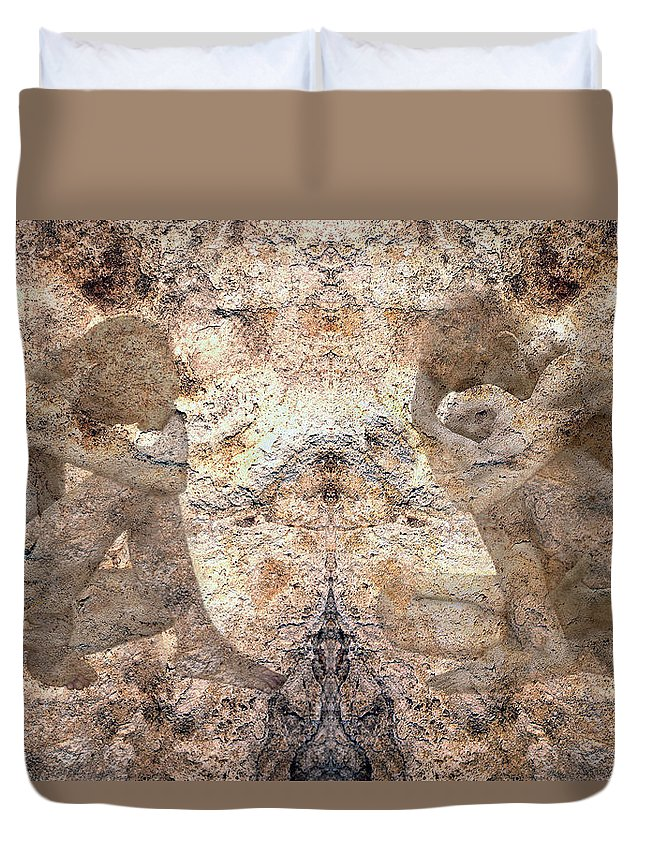 Nudes Duvet Cover featuring the photograph Timeless by Kurt Van Wagner