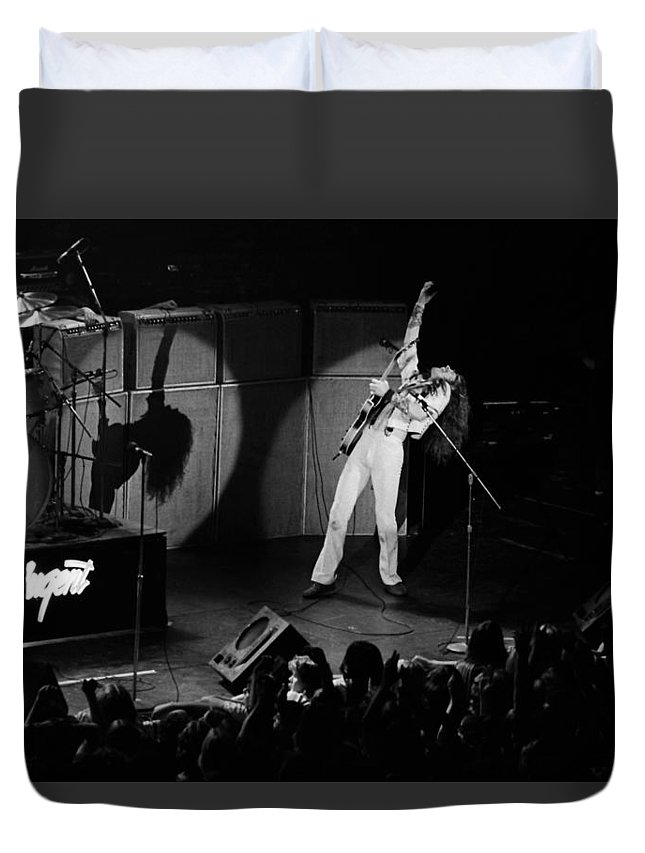 Classic Rock Duvet Cover featuring the photograph Tn#35 by Ben Upham