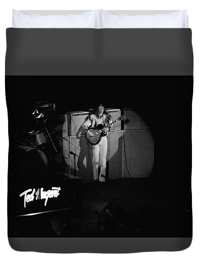 Classic Rock Duvet Cover featuring the photograph Tn#38 by Ben Upham