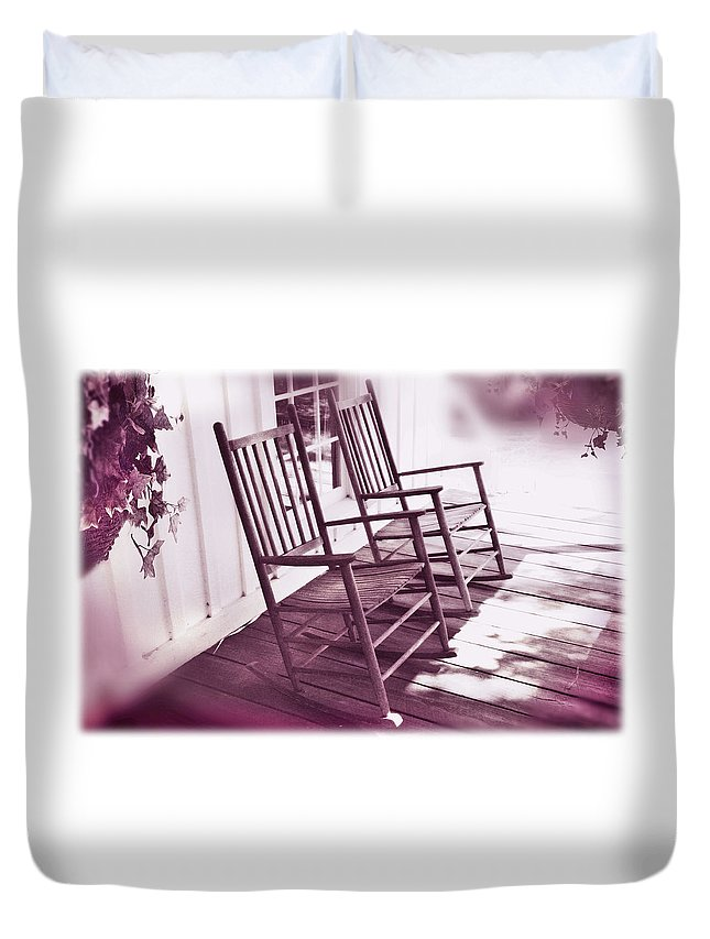Love Duvet Cover featuring the photograph Together Forever by Mal Bray
