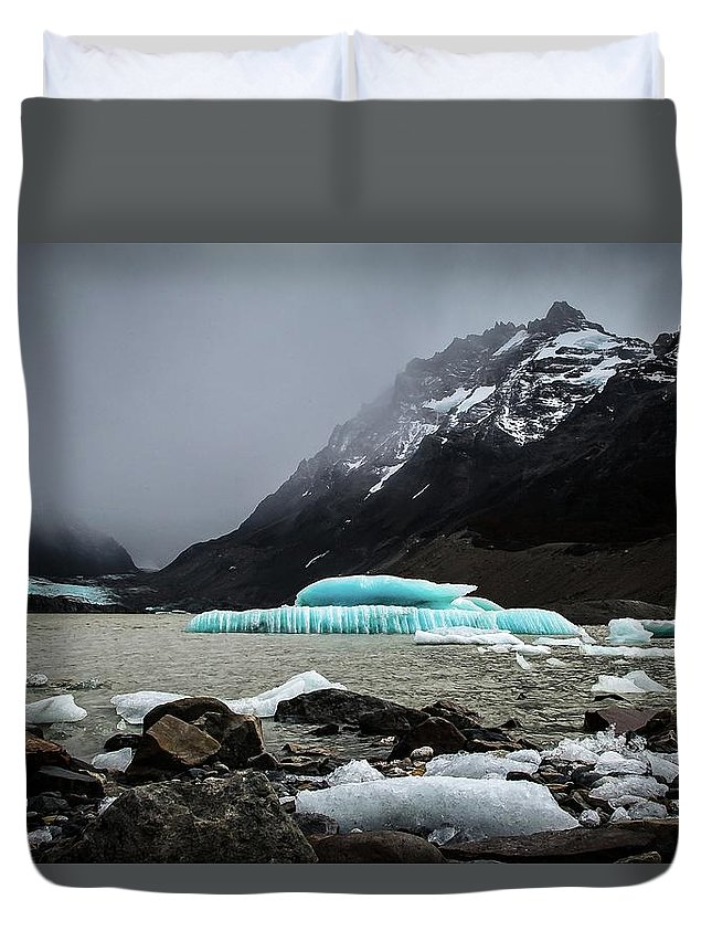 Laguna Duvet Cover featuring the photograph Torre, Bashful by Ryan Weddle