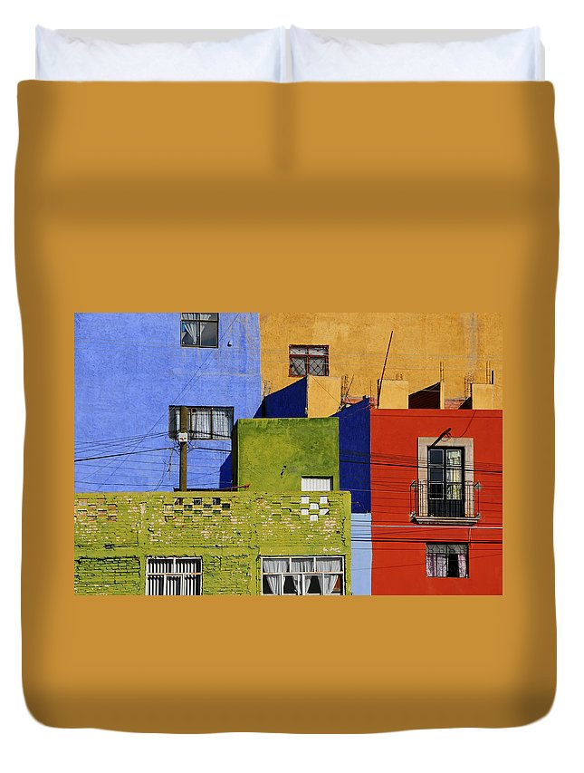 Skip Hunt Duvet Cover featuring the photograph Toy Box by Skip Hunt