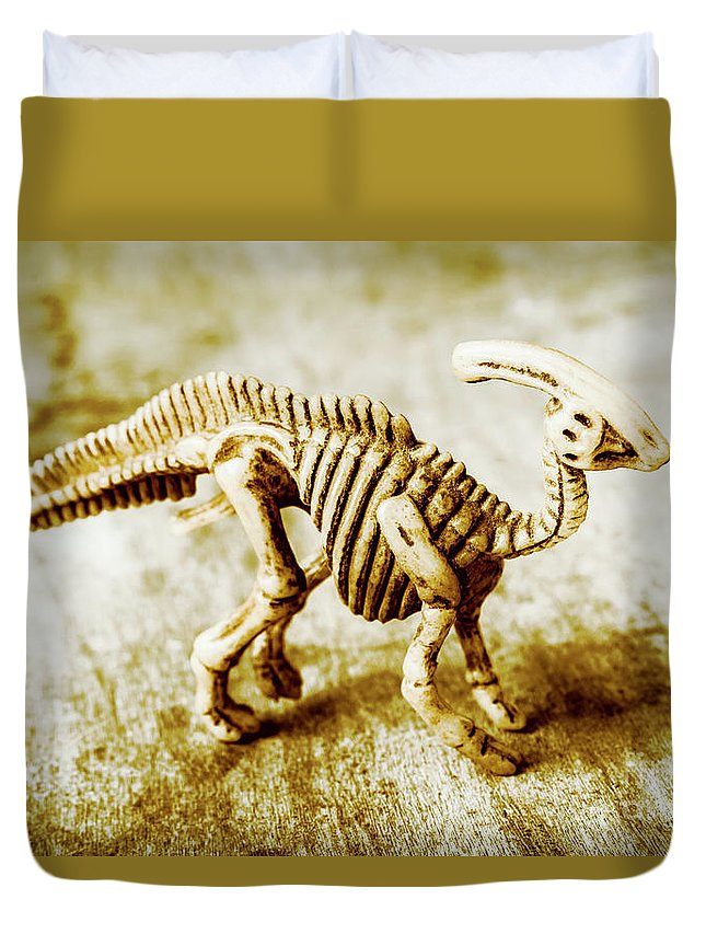 Artefacts Duvet Cover featuring the photograph Toys And Artefacts by Jorgo Photography - Wall Art Gallery
